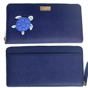 Kate Spade Turtle 🐢 Under the Sea Wallet NEW NWT